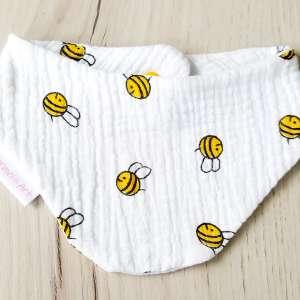 Halstuch Bienen vorne