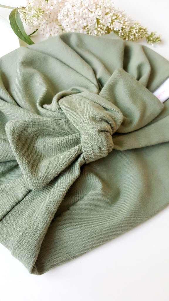 Turbanmuetze grün