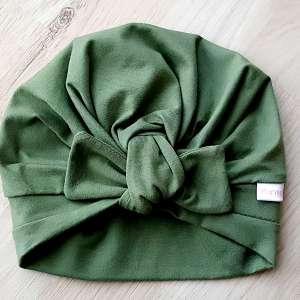 Turbanmütze-olivgrün