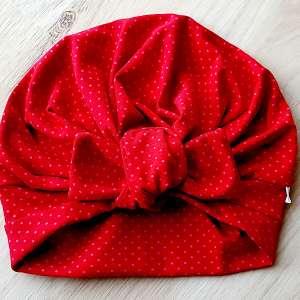 Turbanmuetze rot